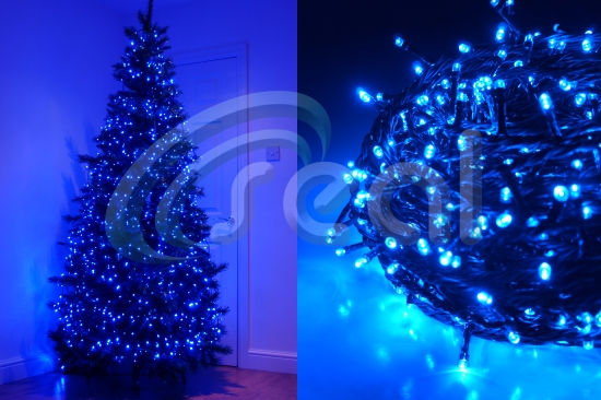 LED Christmas Lights – Blue