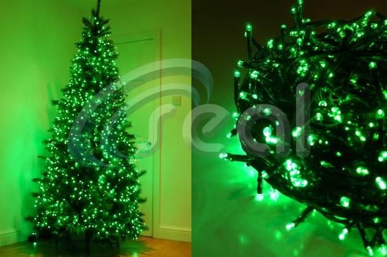 LED Christmas Lights – Green