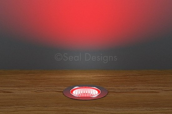 10 x 30mm Kit – Red Stainless Steel Round Bezel