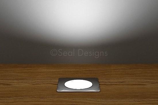 10 x 30mm Kit – White Stainless Steel Square Bezel