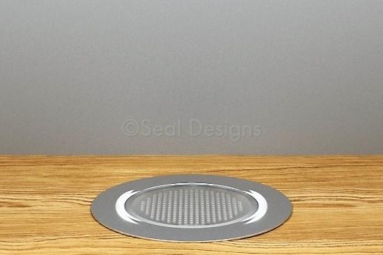 10 x 60mm Easy Change Kit – White Stainless Steel Round Bezel