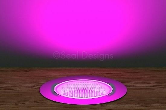 10 x 60mm Kit – Pink Stainless Steel Round Bezel