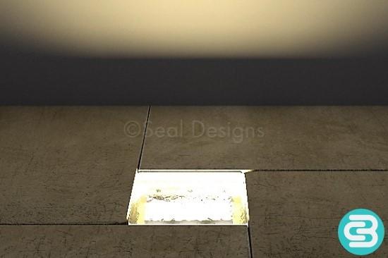 LED Block Light – Warm White