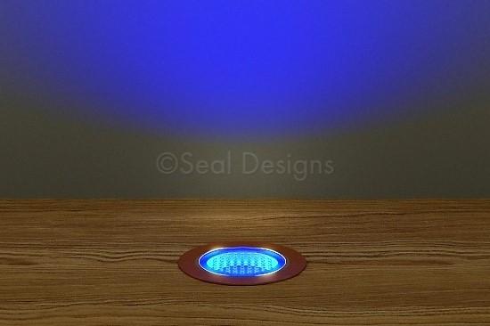10 x 30mm Kit – Blue Copper Round Bezel