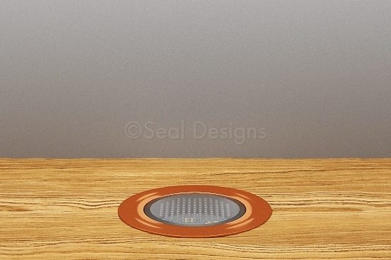 10 x 45mm Kit – Blue Copper Round Bezel
