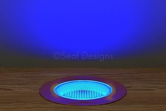 10 x 60mm Kit – Blue Copper Round Bezel