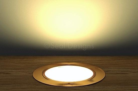 10 x 60mm Kit – Warm White Copper Round Bezel