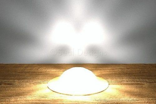 45mm Dome Crystal Lights