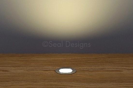 10 x 18mm Easy Change Kit – Warm White Stainless Steel Round Bezel