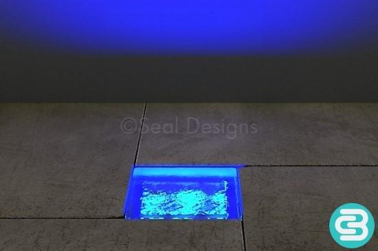 LED Block Light – Blue