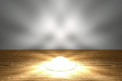 30mm Dome Crystal Lights